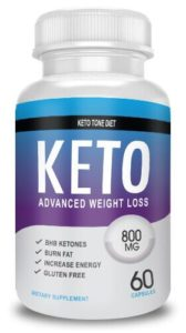 shark tank keto pill bottle