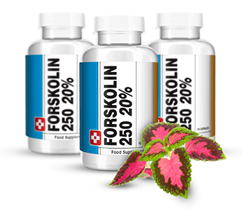 Forskolin diet pills bottle