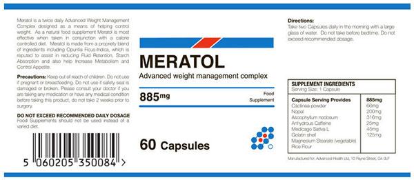 Meratol Ingredients