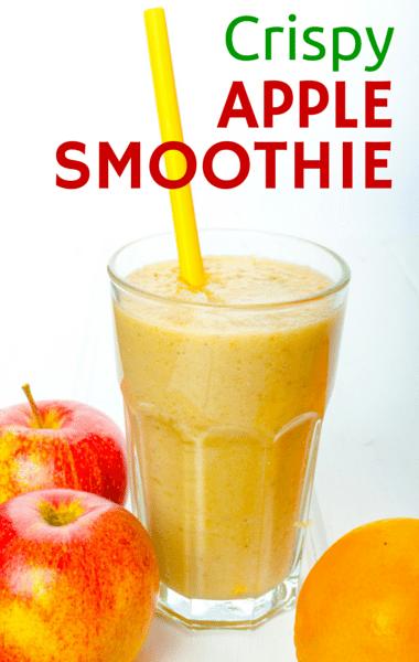 Dr oz crispy apple smoothie