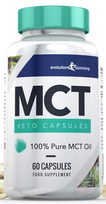 MCT Keto Oil Bottle