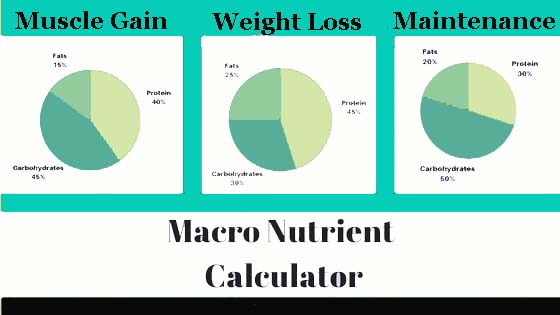 Macro nutrient Calculator
